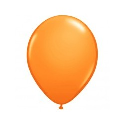 opaque ORANGE 35 cm POCHE DE 5 BALLONS