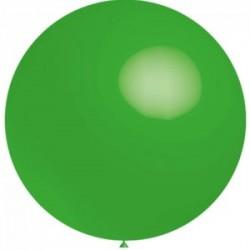 vert opaque rond 40 cm poche de 5 BWS 40 cm rond OPAQUE (pour décoration air ou hélium )