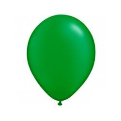 VERT ballons PERLE METAL 25 cm diamètre POCHE DE 100 BWS 25 cm Métallisé (pour décoration air ou hélium )