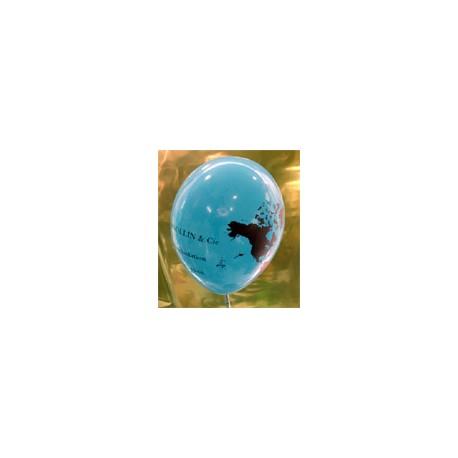 Impression 2 faces 2 couleurs 1000 exemplaires 30 Cm Ø Imprimer Des Ballons 30 Cm