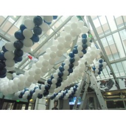 40 mètres Guirlande ballons 25 Les Guirlandes Ballons