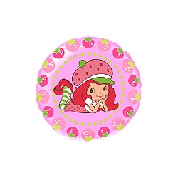charlotte aux fraises mylar rond 45 cm non gonflé Charlotte Aux Fraises