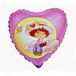 charlotte aux fraises coeur nuage 45 cm non gonflé Charlotte Aux Fraises
