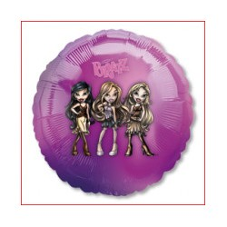 BRATZ BALLON METAL ROND My Little Pony