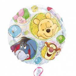 Winnie et amis portrait ballon mylar 45 cm Enfants : Ballons Et Jeux