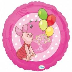 Porcinet portrait ballon mylar 45 cm