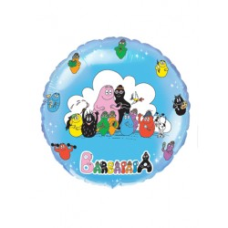 BARBAPAPA FAMILLE BALLON METAL