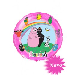 BARBAPAPA ARC EN CIEL BALLON METAL