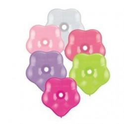 100 qualatex géo blossom 15cm couleur pastel87166 QUALATEX LES BALLONS SPECIAUX OU ORIGINAUX