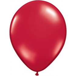 Rouge transparent 28 cm par 2543792 q28 P25 QUALATEX 28 Cm Transparent Qualatex 28 Cm Ø Ballons