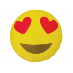Smile emoticon 45 cm à plat