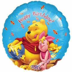 Winnie l'ourson et Porcinet happy birthday