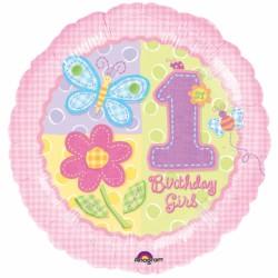 1er anniversaire fille birthday