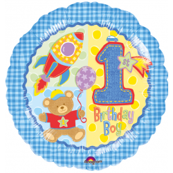 1er anniversaire garçon birthday111017 AMSCAN Anniversaires Chiffres