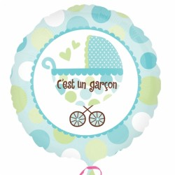 C'EST UN GARCON21993 AMSCAN Bêbê - Naissance - Baptême