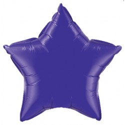 étoile mylar violet 45 cm