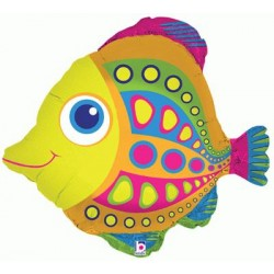 citrus fish 68.6 cm ballons mylar poisson