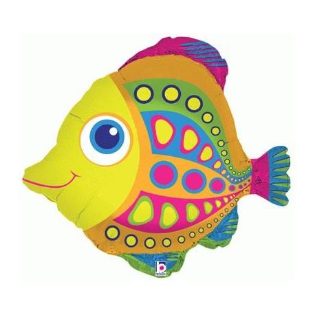 citrus fish 68.6 cm ballons mylar poisson
