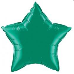 étoile mylar vert Qualatex 50 cm12625 QUALATEX Etoiles 50 Cm