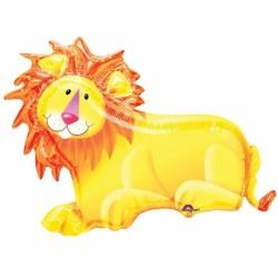 Lion ballon métal 89 cm *64 cm