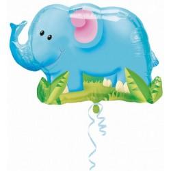 Elephant ballon mylar115030 AMSCAN Animaux