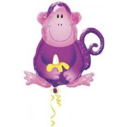 singe ballon mylar 66*70115029 AMSCAN Animaux