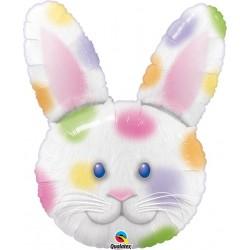 Tête de lapin couleur 86 cm Animaux
