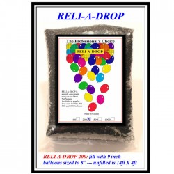 Filet pour tomber de ballons 200 ballonsTOMBERBALLONS200P1 QUALATEX Filets Et Accessoires Pour Lâchers Et Tomber De Ballons