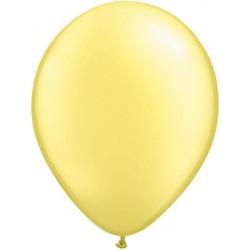 perlé jaune pâle 12.5 cm poche de 100perle jaune pâle 43585 q 12 cm QUALATEX 12 Cm Perle Clair 12 Cm Ø Qualatex