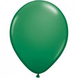 qualatex vert 28 cm poche de 100