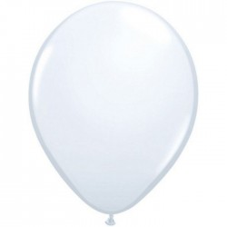 qualatex blanc 28 cm poche de 10043802 q BLANC 28 cmP100 QUALATEX 28 Cm Opaques Qualatex 28 Cm Ø Ballons