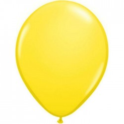 qualatex jaune 28 cm poche de 10043804 q28 cm jaune p100 QUALATEX 28 Cm Opaques Qualatex 28 Cm Ø Ballons