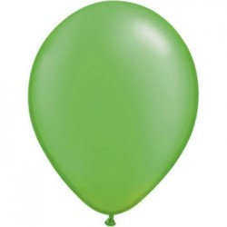 qualatex perlé vert limette 28 cm poche de 100