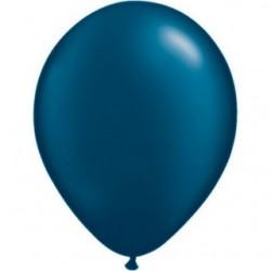 qualatex pearl bleu nuit 28 cm poche de 100