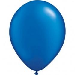 qualatex perlé bleu saphir 28 cm poche de 100