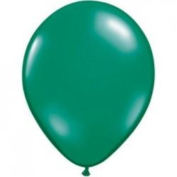 qualatex perlé vert emeraude 28 cm poche de 100