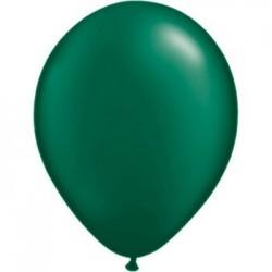 Perlé vert forêt 28 cm poche de 10043772 pfg q28 p100 QUALATEX 28 Cm Perlés Foncés (Satin, Nacré, Perlé,Métal) 28 Cm Ø Ballon...