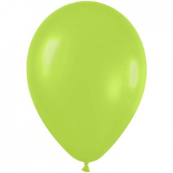 sempertex 28 cm neon vert poche de 50