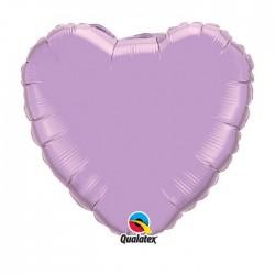 coeur lilas mylar 90 cm d'envergure