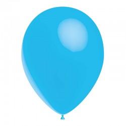 opaque bleu ciel 35 cm POCHE DE 25 BALLONS