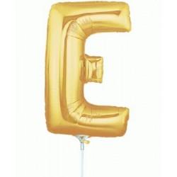 E lettre 35 cm mylar or