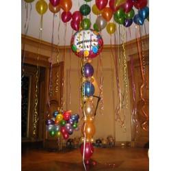 27092018 Vineuse livraison 40 40 cm ballons gonflés hélium IDF