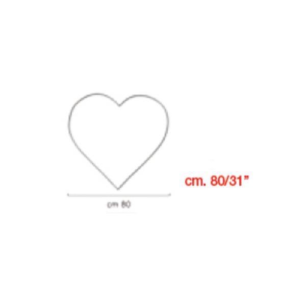coeur à suspendrecoeur 80 BWS Structures Pour Décorations