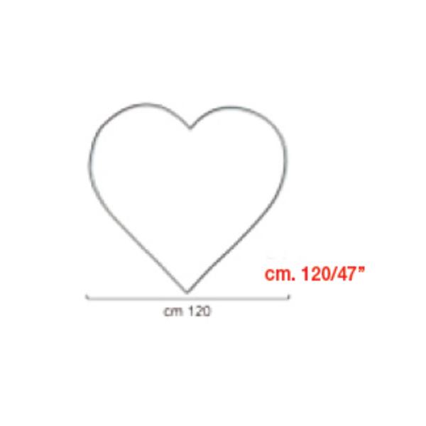 coeur à suspendrecoeur 120 BWS Structures Pour Décorations