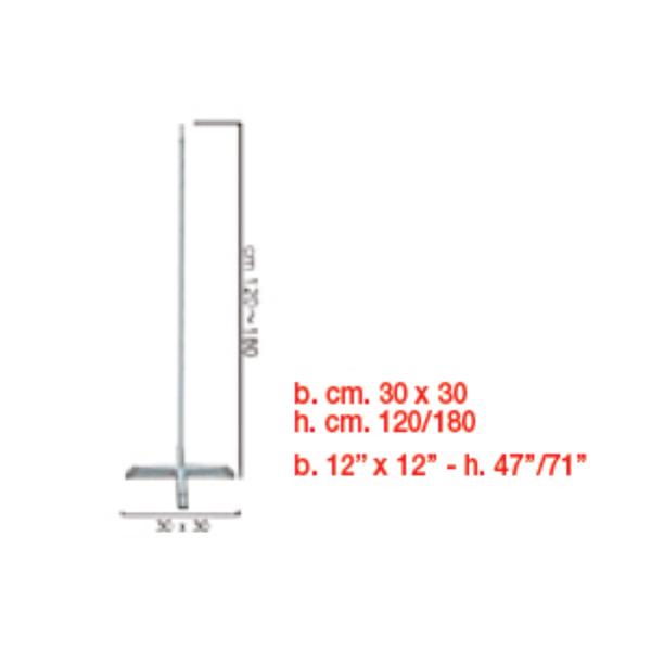 colonne ajustable 120/180colonne 120/180 BWS Structures Pour Décorations