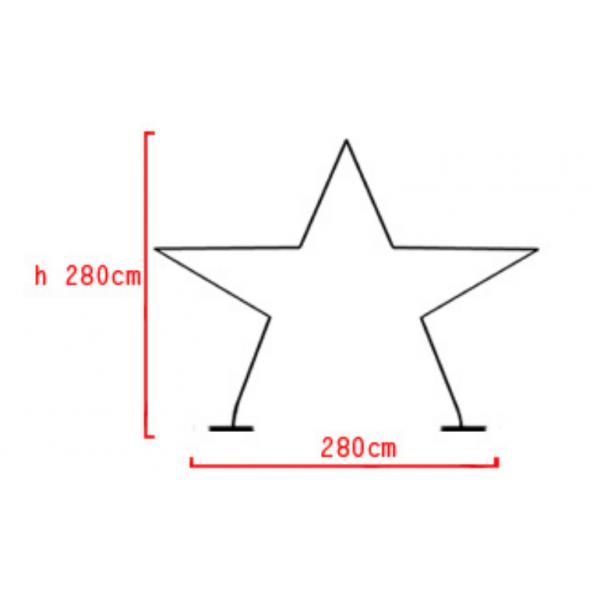structure arche étoilearche étoile BWS Structures Pour Décorations