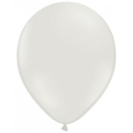 100 ballons blanc opaque 28 cm