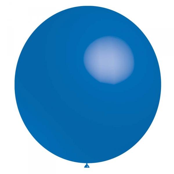 ballon baudruche 140 cm de diamètre Bleu roi BALOONIA 140 et 180 cm