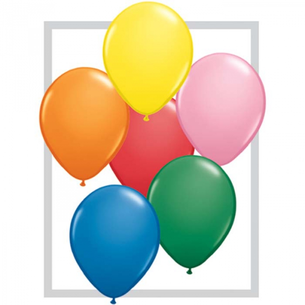 100 qualatex 28 cm couleurs standard QUALATEX 28 Cm Opaques Qualatex 28 Cm Ø Ballons