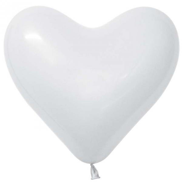 coeur blanc sempertex 30 cm poche 1001961_724873604 SEMPERTEX Sempertex Coeurs